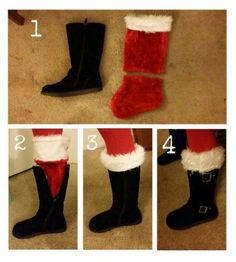 christmas costumes diy Best boots outfit for work christmas gifts Ideas Fun Christmas Outfits, Diy Ugly Christmas Sweater, Tacky Christmas, Christmas Costumes, Christmas Stockings, Christmas Holidays, Christmas Crafts, Ugly Sweater, Christmas Clothes