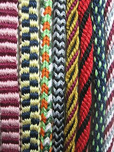 Kumihimo braiding kit: two looms (round and square), four types of cords (round, Corkscrew, square and woven), instructions and yarn for eight bracelets (two of each type), and links to many more. https://www.zibbet.com/shuvalaccessories/kumihimo-braiding-kit https://www.etsy.com/shop/ShuvalAccessories