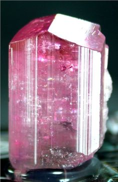 WOW 53 carats Top Quality Supreme Luster Pink ELBITE TOURMALINE Crystal @ Paprok
