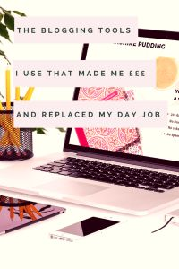 THE BLOGGING TOOLS I USED THAT MADE MONEY TO REPLACE MY DAY JOB