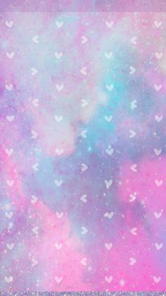 Glitter Phone Wallpaper, Cute Galaxy Wallpaper, Wallpaper For Your Phone, Pastel Wallpaper, Love Wallpaper, Wallpapers Tumblr, Cute Wallpapers, Iphone Wallpapers, Cute Backgrounds