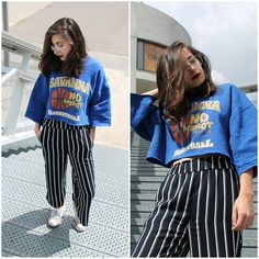 Elo' Cupcake - H&M Culottes, Thrift Shop Sweater, Converse Sneakers - Lust for life Converse Sneakers, Sweater Shop, Lust, Thrifting, Cupcake, Women Wear, Ootd, Street Style, Crop Tops