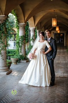 Modest Wedding Dress With Long Lace Sleeves From Alta Moda Bridal Gown Dresses Pinterest Gowns