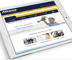 Airline Booking Flights Web Design