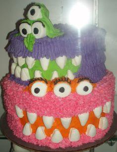 ileys mini monster cake Birthdays Pinterest Torte Mostri e