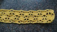 Heklet påskeduk i viftemønster   ninashekleverden Crochet Necklace, Accessories, Om, Embroidery, Threading, Crochet Collar, Ornament