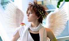 Pit (Kid Icarus) cosplay