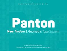 The font family is most suitable for headlines of all sizes, as well as for text blocks that come in both maximum and minimum variations. Panton font styles are applicable for any type of graphic design in web, print, motion graphics etc and perfect for t…
