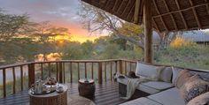 Finch Hattons Luxury Tented Camp, Tsavo West, Kenya