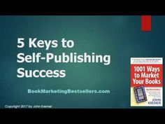 You are the self-publisher. No one else can self-publish your book. Self-publishing is a self-directed activity for publishing and marketing your book.