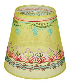 Look what I found on #zulily! Lime Lamp Shade #zulilyfinds
