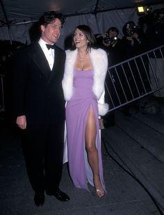 Pin for Later: 75 Moments Inoubliables du Met Gala Hugh Grant et Elizabeth Hurley — 1997