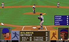 One of the many classic games of the late 1980s and early 1990s, Tony La Russa Baseball II featured real players, teams and stadiums.