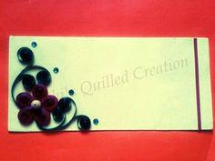 Quilled Envelope