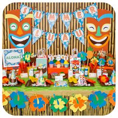 Luau / Hawaiian Birthday Party Ideas | Photo 1 of 64 | Catch My Party