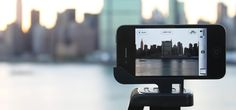 The glyph is an iPhone tripod mount and stand. You can preorder via Kickstarter for $20.
