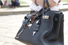 The charming way your accessories and sunglasses hang off the handles