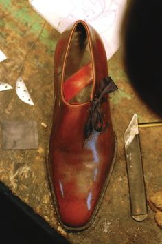 Norman Vilalta, An Argentinian lawyer turned into shoemaker. :)