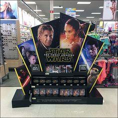 Star Wars Full Size POP Display Main