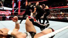 Sheamus, John Cena, and Daniel Bryan vs. The Shield on #WWE #Raw