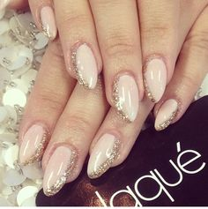Love this style of nails.