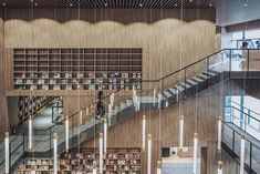 van wang architects convert sales pavilion into a local library