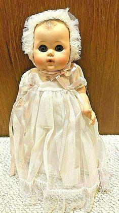 Vintage hard-to-find Teeney Toodles baby doll Antique Dolls, Vintage Dolls, Girls Dresses, Flower Girl Dresses, Hard To Find, Baby Dolls, Wedding Dresses, Ebay, Fashion