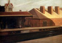 la station el - (Edward Hopper)