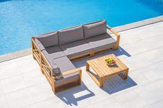 Gartenmöbel online kaufen mömax Outdoor Sectional, Sectional Sofa, Outdoor Furniture, Outdoor Decor, Home Decor, Small Restaurants, Small Balconies, Lounge Furniture, Outdoor