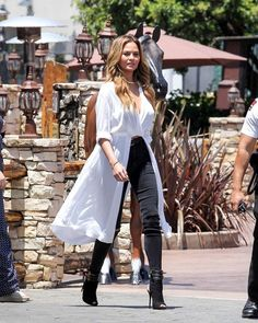 Chrissy's Best Casual Outfits - Celeb Street Style: Chrissy Teigen- StyleBistro
