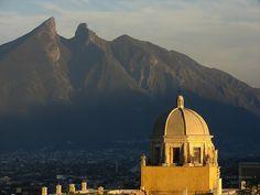 Obispado & Cerro de la Silla (Saddle Hill) in Monterrey
