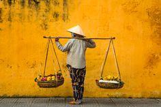 The yellow city of Vietnam