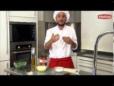 Bruschettas de tomate, olivas y parmesano - YouTube