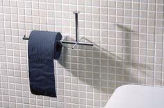 Portarollos izquierda más auxiliar cromado.Accesorios de baño de BEMEDE 69ca5108f59f