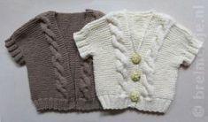 Patroon om een babyvestje te breien | Breimeisje.nl Baby Knitting, Crochet Baby, Knit Crochet, Cardigan Bebe, Baby Born, Knitting Patterns, Hair Beauty, Elsa, Sweaters
