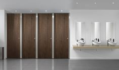 A lighter color of Partitions will go into Womens room
