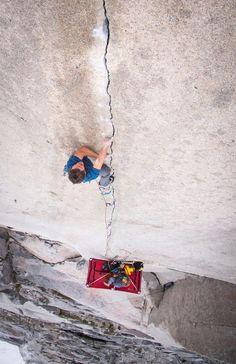 Rock climbing. #thep