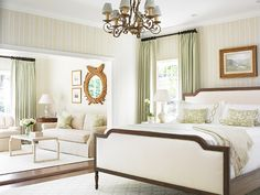 Bedroom Sitting Area. Traditional Bedroom Sitting Area. Bedroom Sitting Area Ideas. #BedroomSittingArea Allison Hennessy.