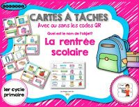 Back to school - Free resources French Teacher, Teaching French, First Day Activities, Activities For Kids, Behavior Sheet, French Verbs, Core French, French Classroom, French Resources