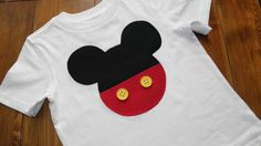 Cute t-shirt for a Mickey birthday