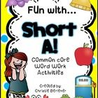 Teaching short vowels??? This super fun pack includes a full-color short a anchor chart and 8 ready-to-go printable activities, including an emerge...