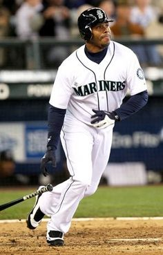 "Ken Griffey Jr. - ""The Kid""  Always enjoy watching a game... Safeco field one of my favorite places to be!!!"