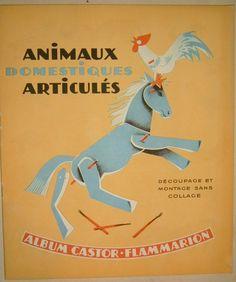 91. ANIMAUX DOMESTIQUES ARTICULÉS V. Leblond 1941