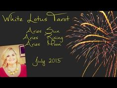ARIES July 2015 Psychic Tarot Reading/ Intuitive Life Coaching - YouTube