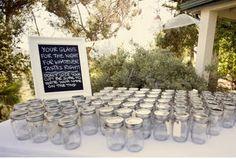 Love this! mason-jars-for-vintage-weddings-DIY-wedding-reception-ideas and Reception, Styles, Wedding, Jars, Wedding Jars, Wedding Reception Decorations, Rustic Wedding, Our Wedding, Reception Ideas, Wedding Menu, Dream Wedding, Wedding Glasses, Wedding Receptions