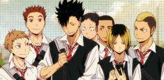 Haikyuu!! Nekoma #anime #gif