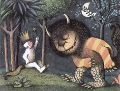 From Where The Wild Things Are by Maurice Sendak
