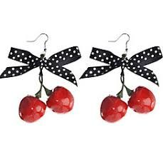 Looking to make your rockabilly costume fab? Grab a pair of our Rockabilly Cherry Earrings. Rockabilly Cherry Earrings are a great addition to your pin up girl costume. Halloween Costumes Women Creative, Diy Halloween Costumes For Women, Halloween Costume Shop, Halloween Kids, Happy Halloween, Pin Up Girl Costume, Gruseliger Clown, Creepy, Cherry Earrings