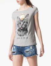 Stradivarius Camiseta print animales