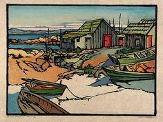 William S. Rice, Chinese Fisheries, Monterey, 1920